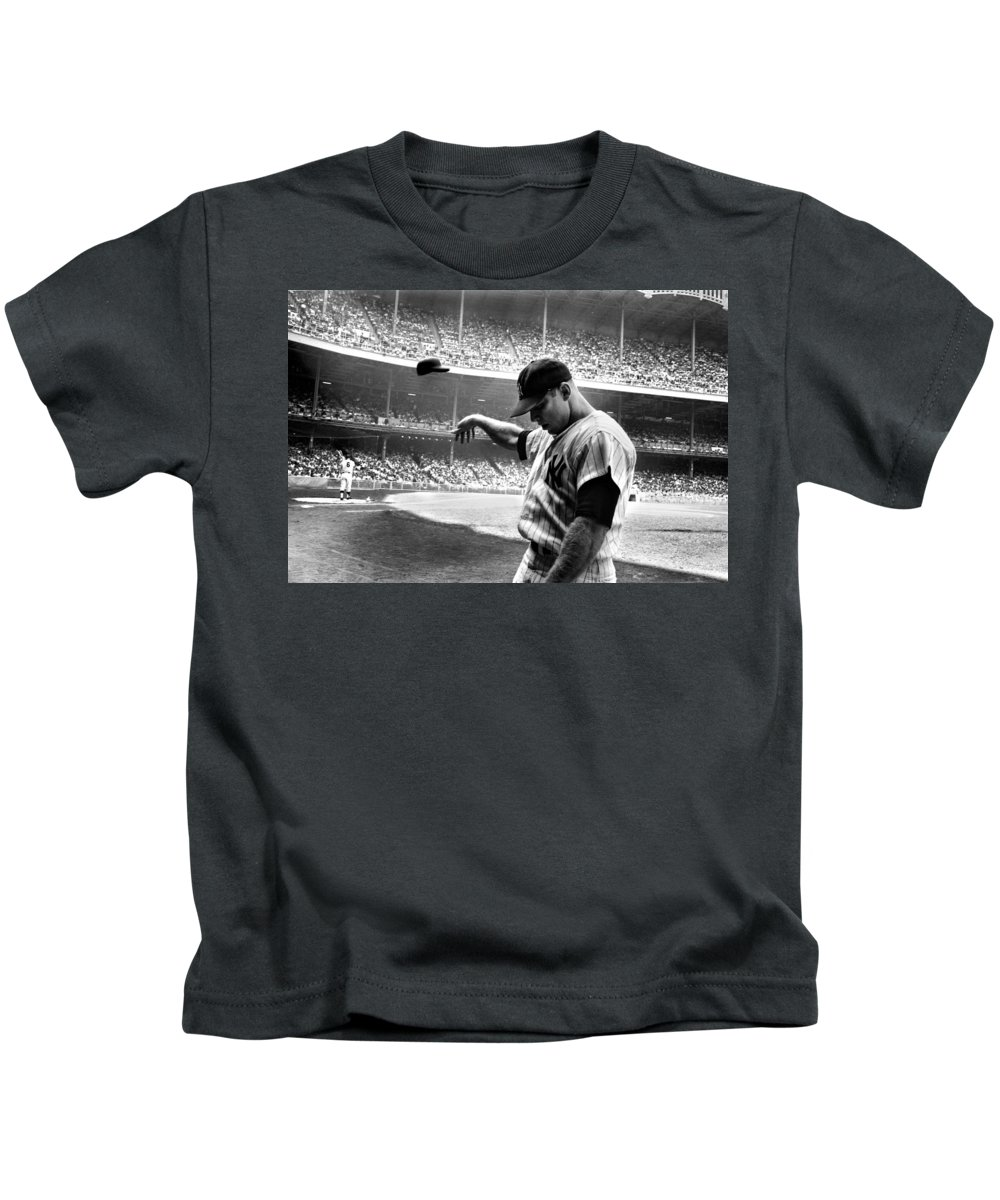 Mickey Mantle Kids T-Shirts