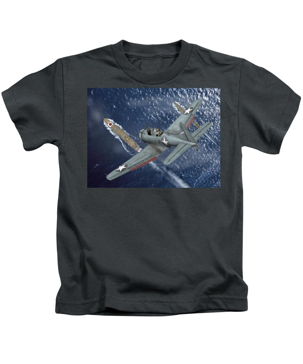 Sbd Kids T-Shirt featuring the digital art Midway Moment by Mil Merchant