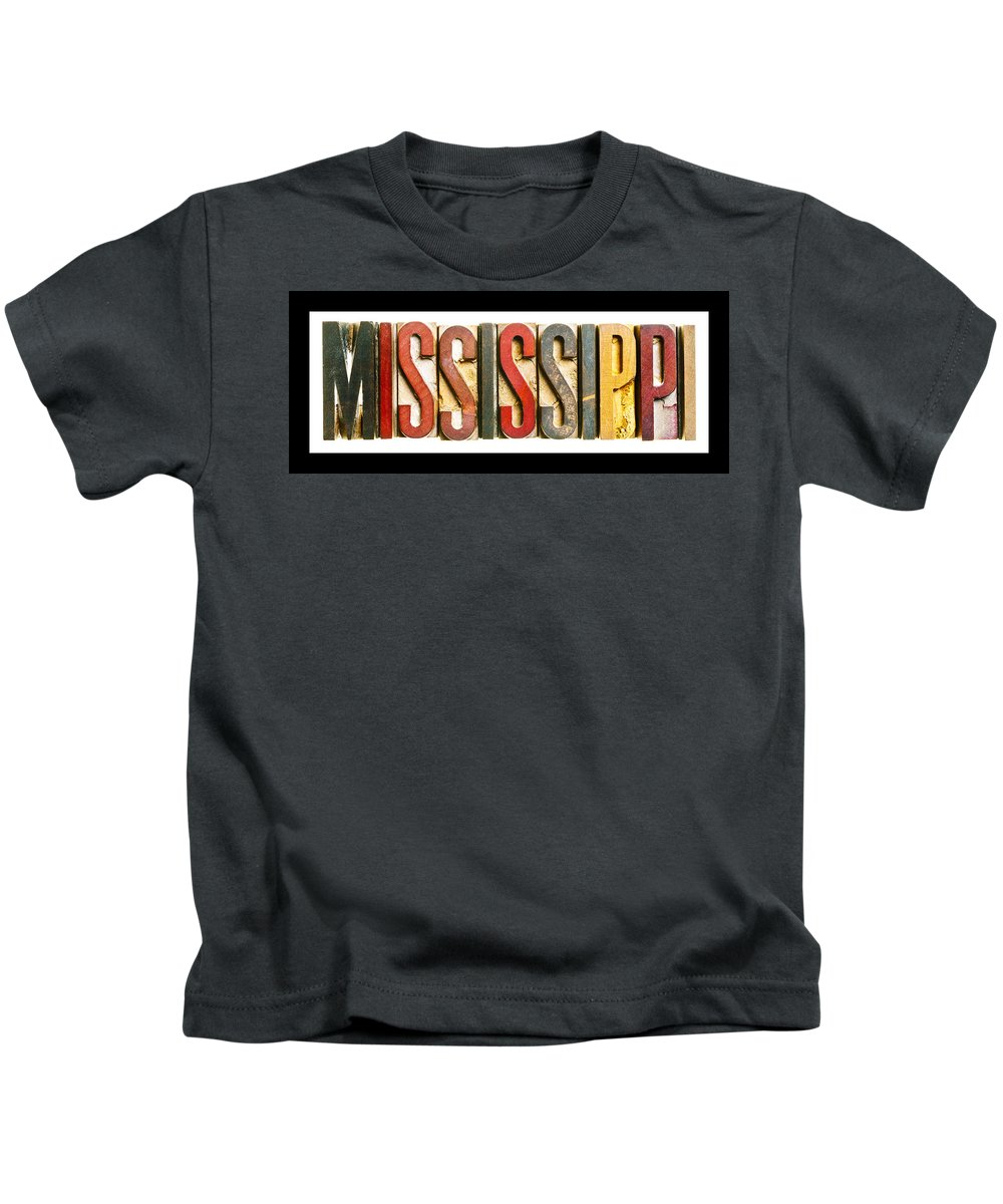 Mississippi Kids T-Shirt featuring the photograph Mississippi by Donald Erickson