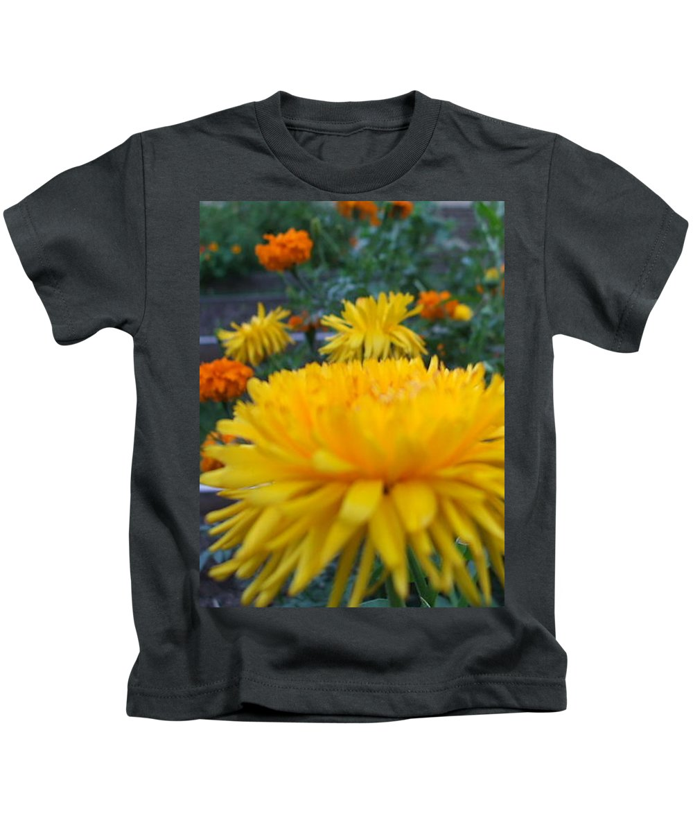 Floral Kids T-Shirt featuring the photograph Morning by Jo Dawkins