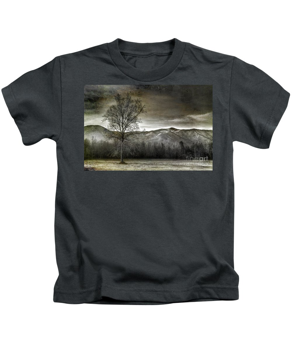 Smoky Mountains Kids T-Shirt featuring the photograph Morning Temptation by Michael Eingle