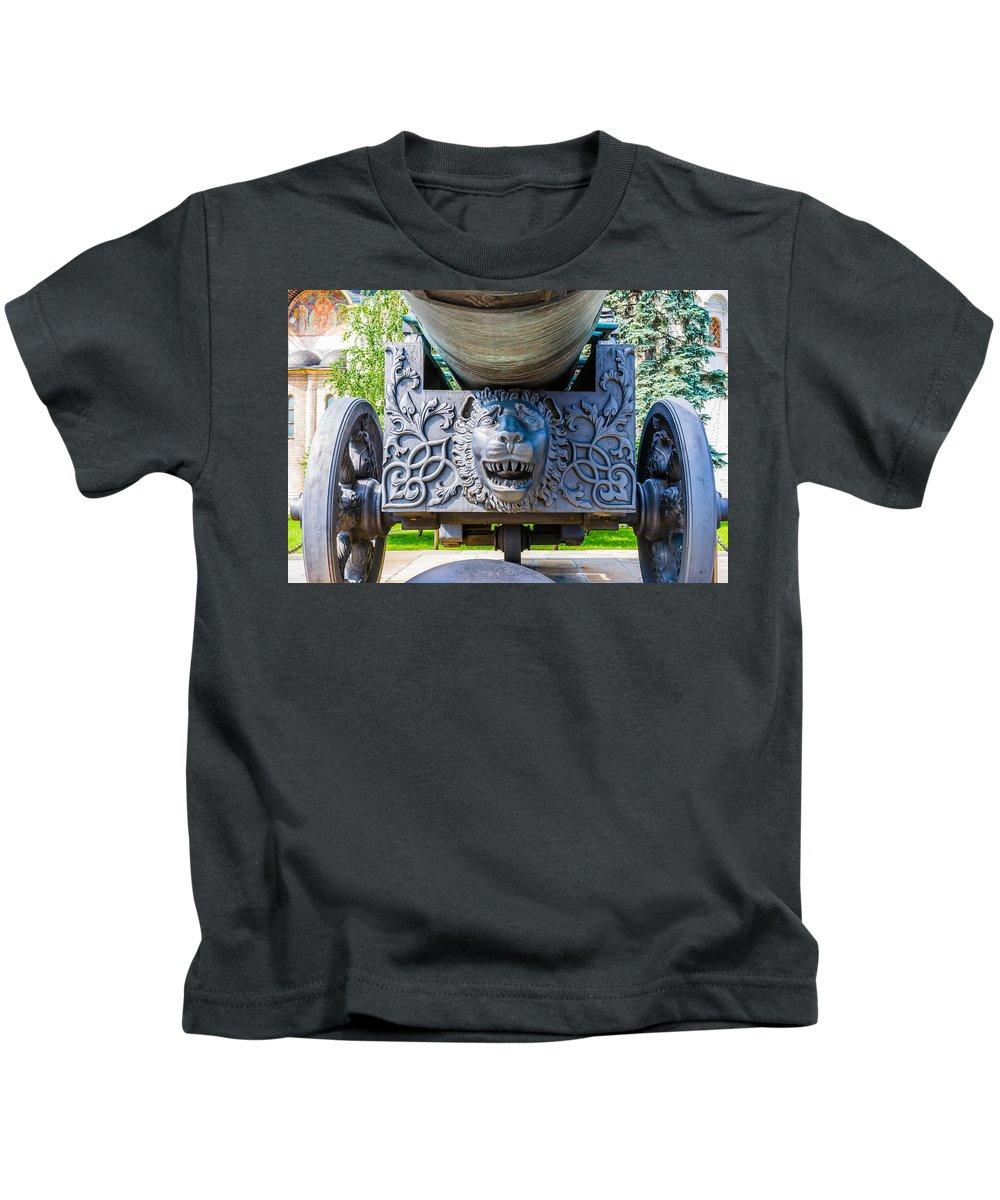 Moscow Kids T-Shirt featuring the photograph Moscow Kremlin Tour - 25 Of 70 by Alexander Senin