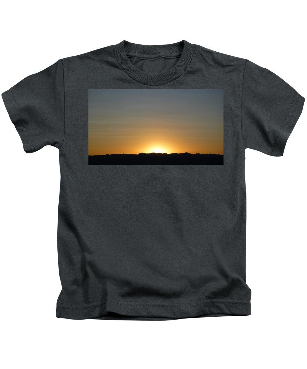Sun Kids T-Shirt featuring the photograph New Meadows Sunset by Fernando Delgado