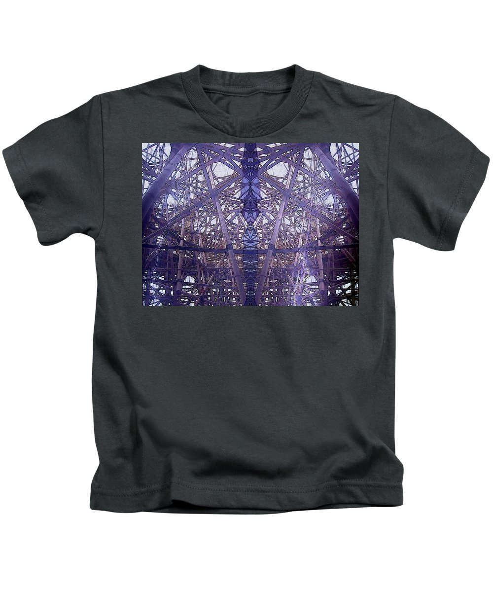 Pattern Kids T-Shirt featuring the photograph Night Styx by Candee Lucas
