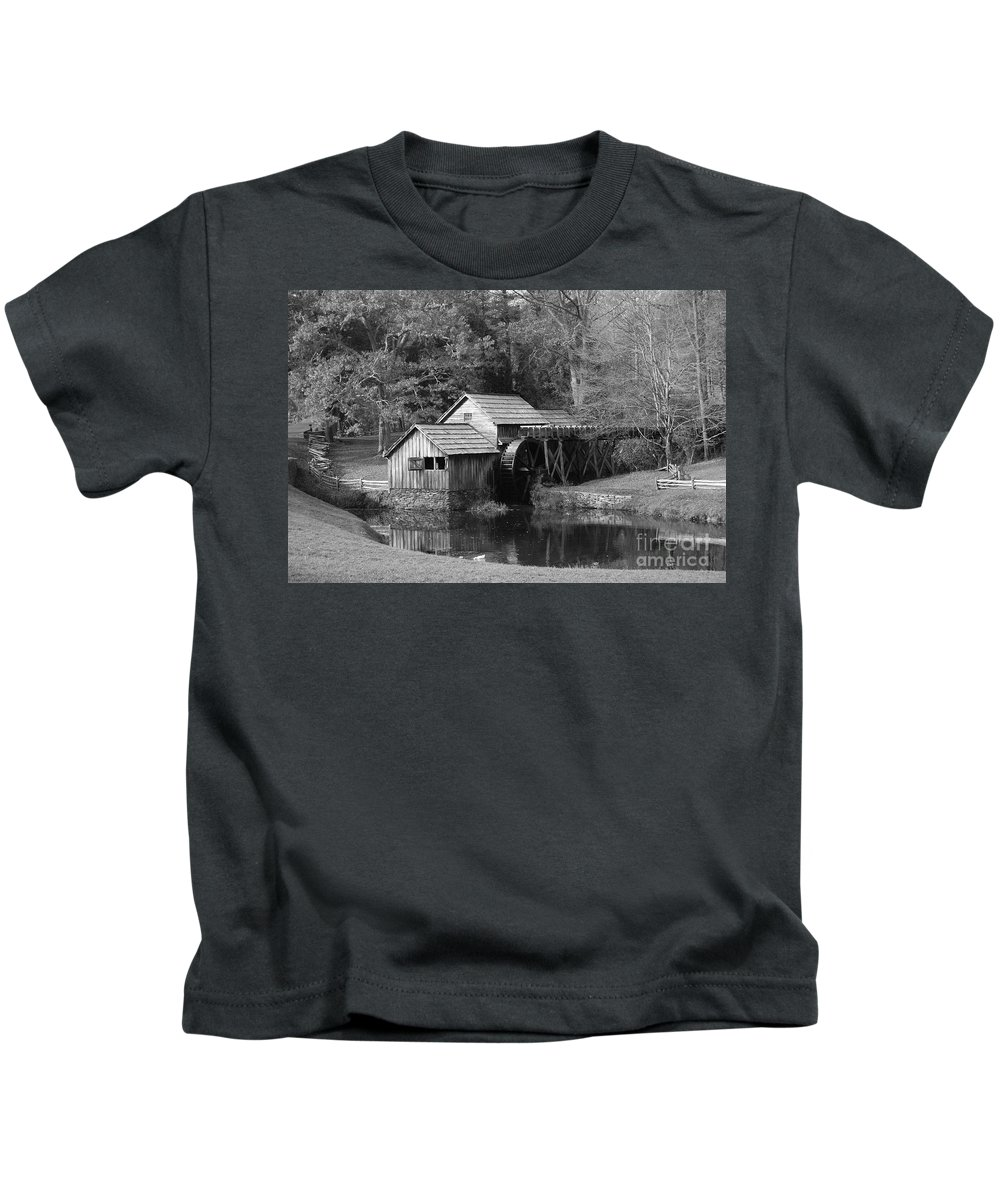 Virginia Kids T-Shirt featuring the photograph Virginia's Old Mill by Eric Liller