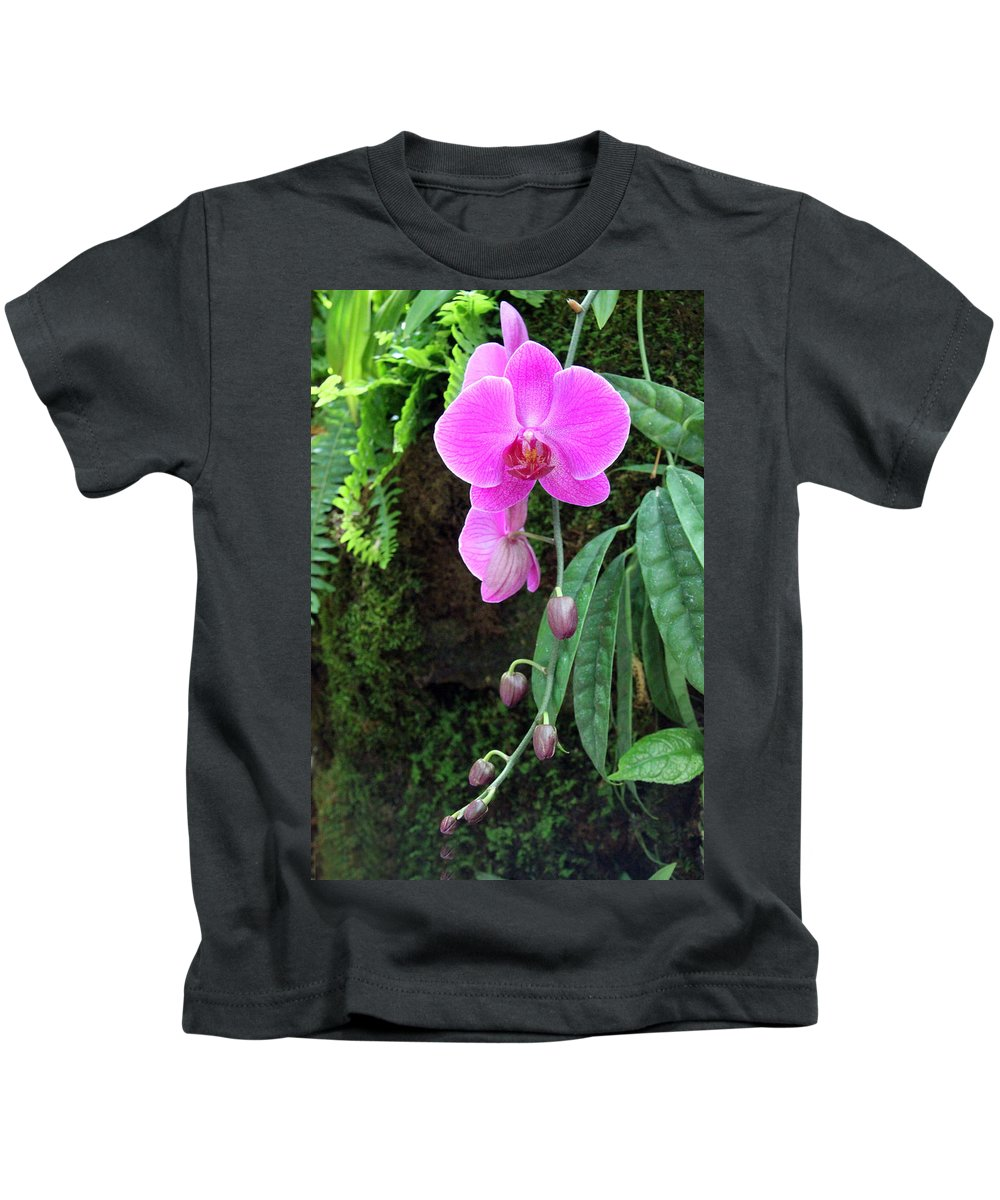 Orchid Kids T-Shirt featuring the photograph Orchid2705 by Carolyn Stagger Cokley