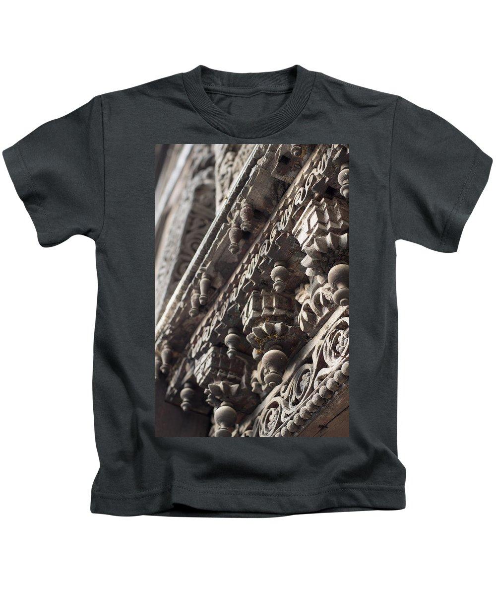 Historic Kids T-Shirt featuring the photograph Ornamental by Scott Wyatt