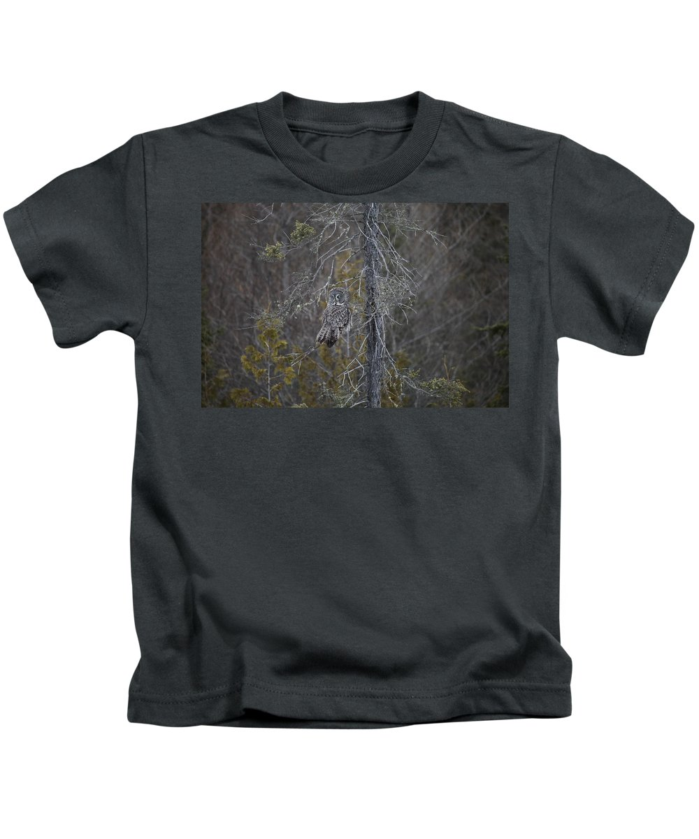 Great Kids T-Shirt featuring the photograph Over The Shoulder by Chris Artist