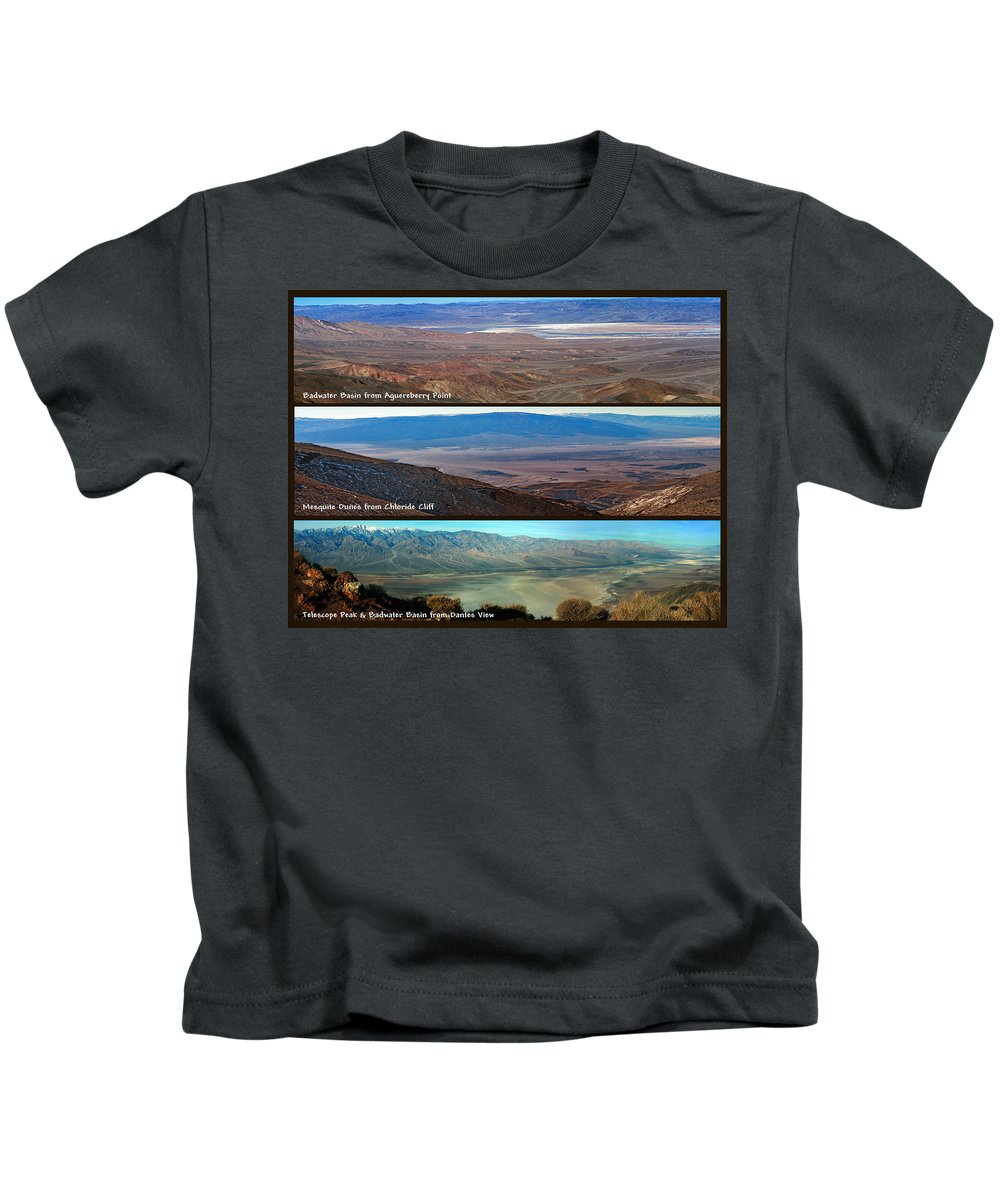 Landscapes Kids T-Shirt featuring the photograph Panorama College #1 by David Salter