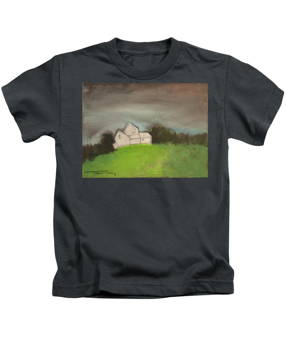 House Kids T-Shirt featuring the photograph Passing Storm by Tim Nyberg