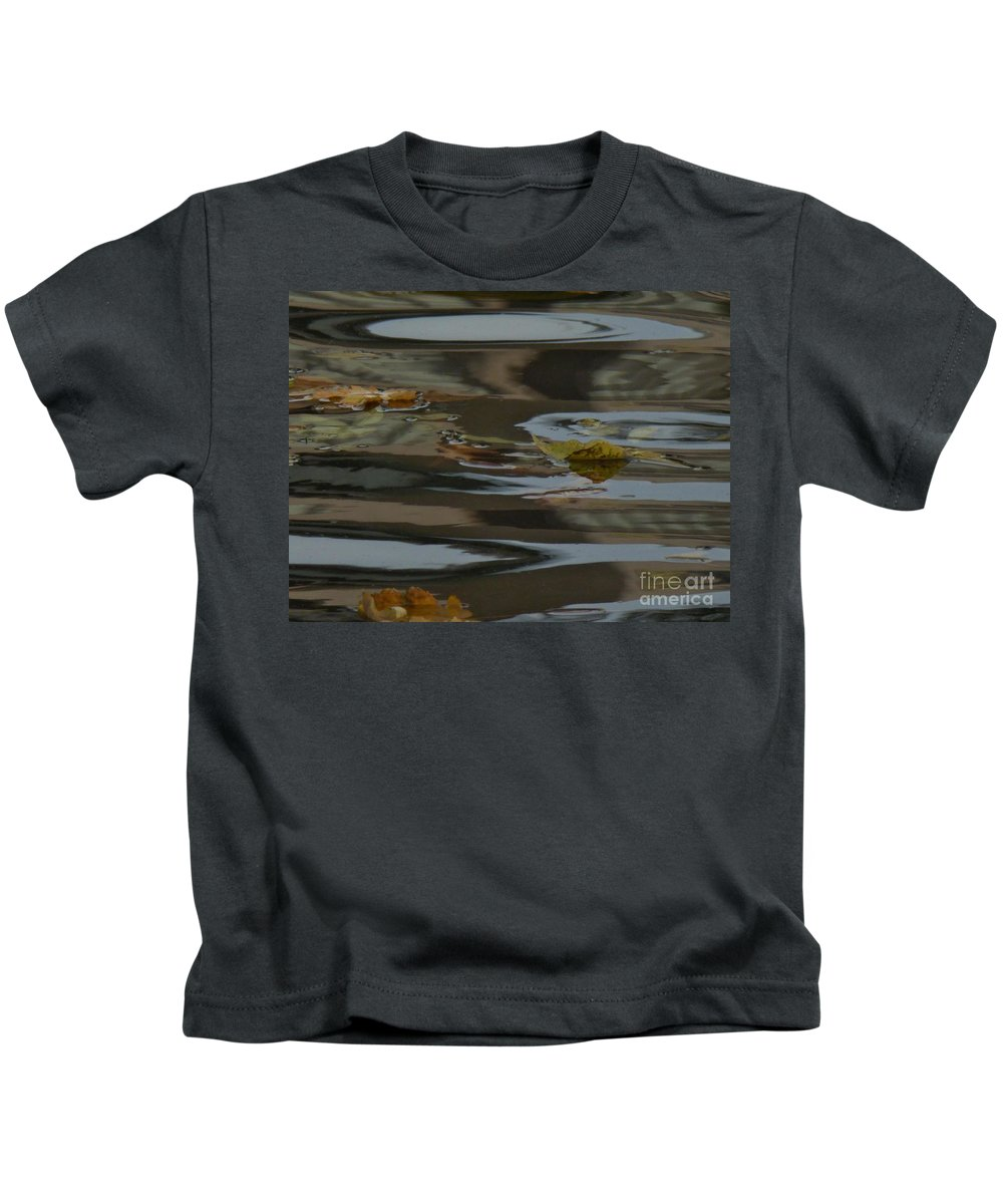 A Collection Of Images In The Lake Kids T-Shirt featuring the photograph Peaceful by Nili Tochner