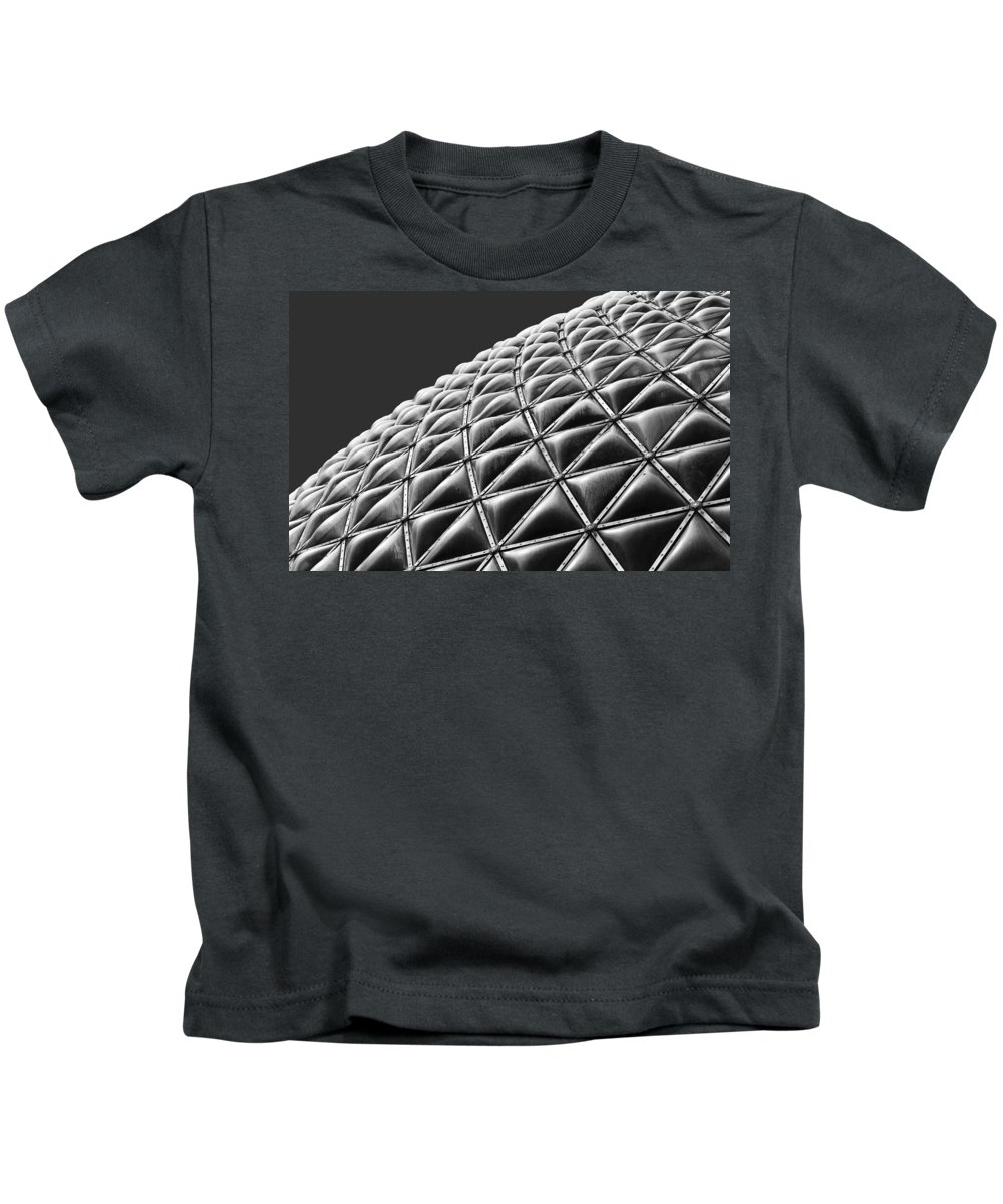 Architectural Kids T-Shirt featuring the photograph Piece By Piece by Claudio Bacinello