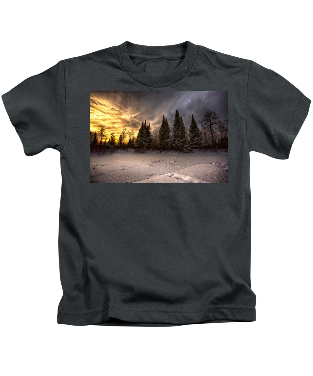 Bitter Kids T-Shirt featuring the photograph Pinewood River by Jakub Sisak