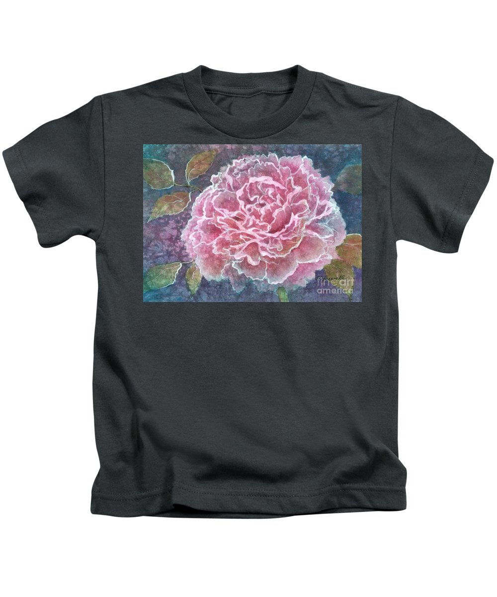 Water Http://fineartamerica.com/images-medium/pink-beauty-barbara-jewell.jpg?timestamp=1338949785color Paintings Kids T-Shirt featuring the painting Pink Beauty by Barbara Jewell