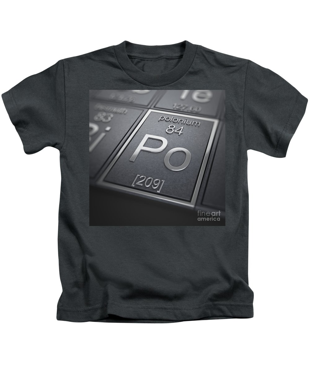 Polonium Kids T-Shirt featuring the photograph Polonium Chemical Element by Science Picture Co