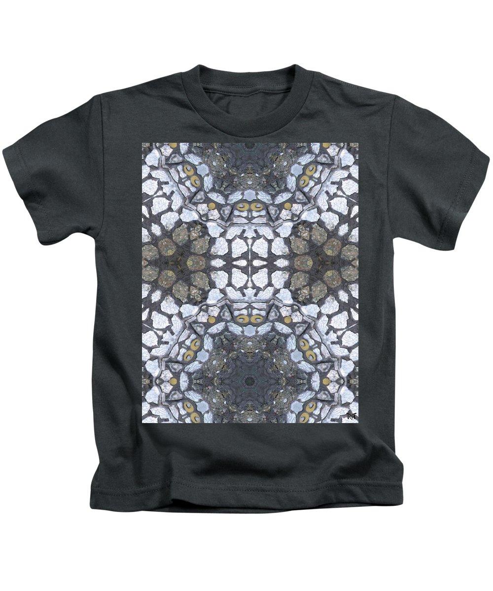Magissimo Prints Kids T-Shirt featuring the digital art Praying Owls by Maria Watt