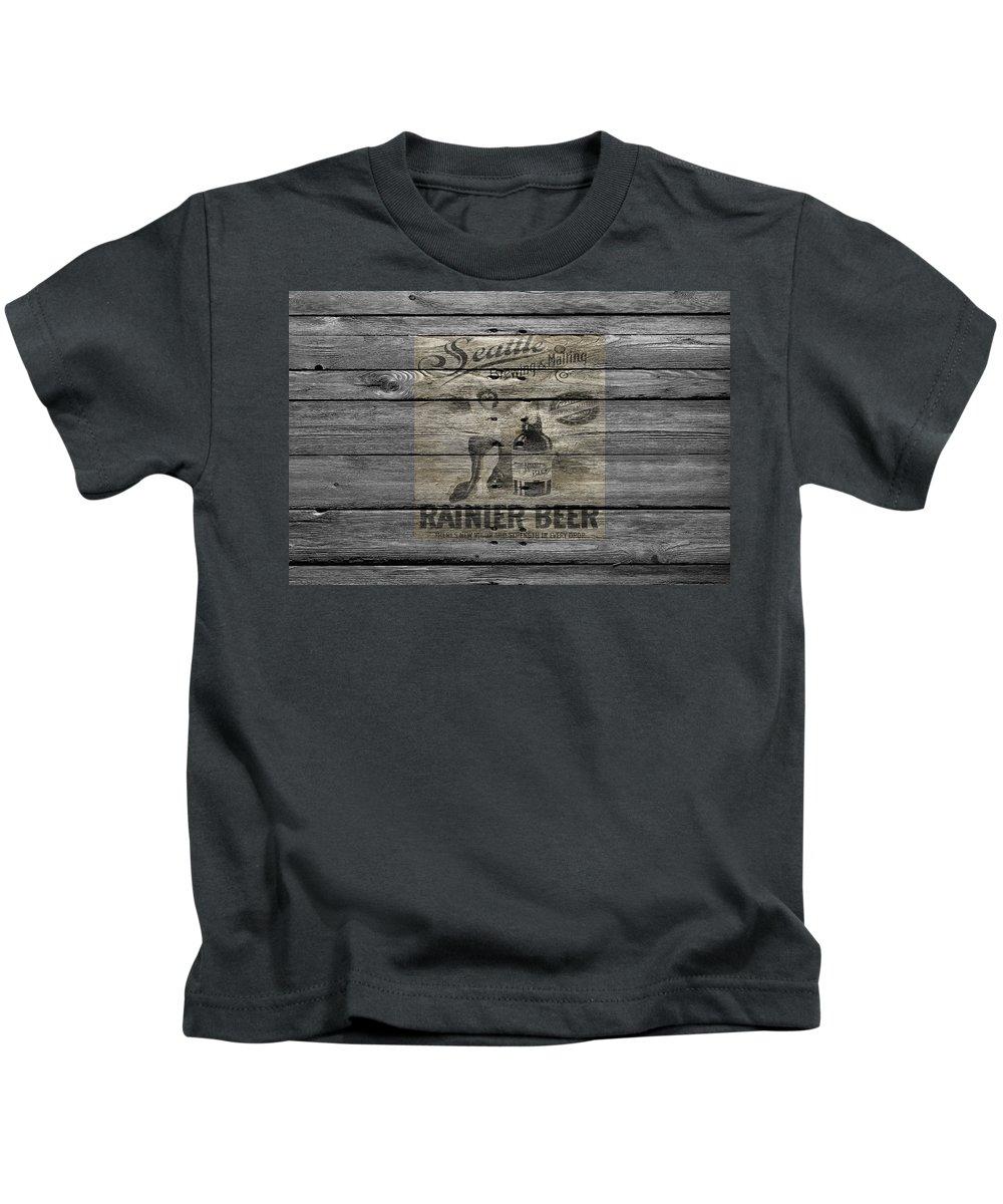 6fcb4cfcd Rainier Beer Kids T-Shirts | Fine Art America