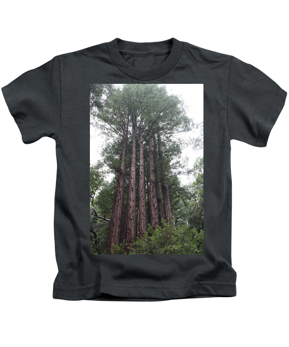California Kids T-Shirt featuring the photograph Redwood Fairy Ring Close by Nicholas Miller