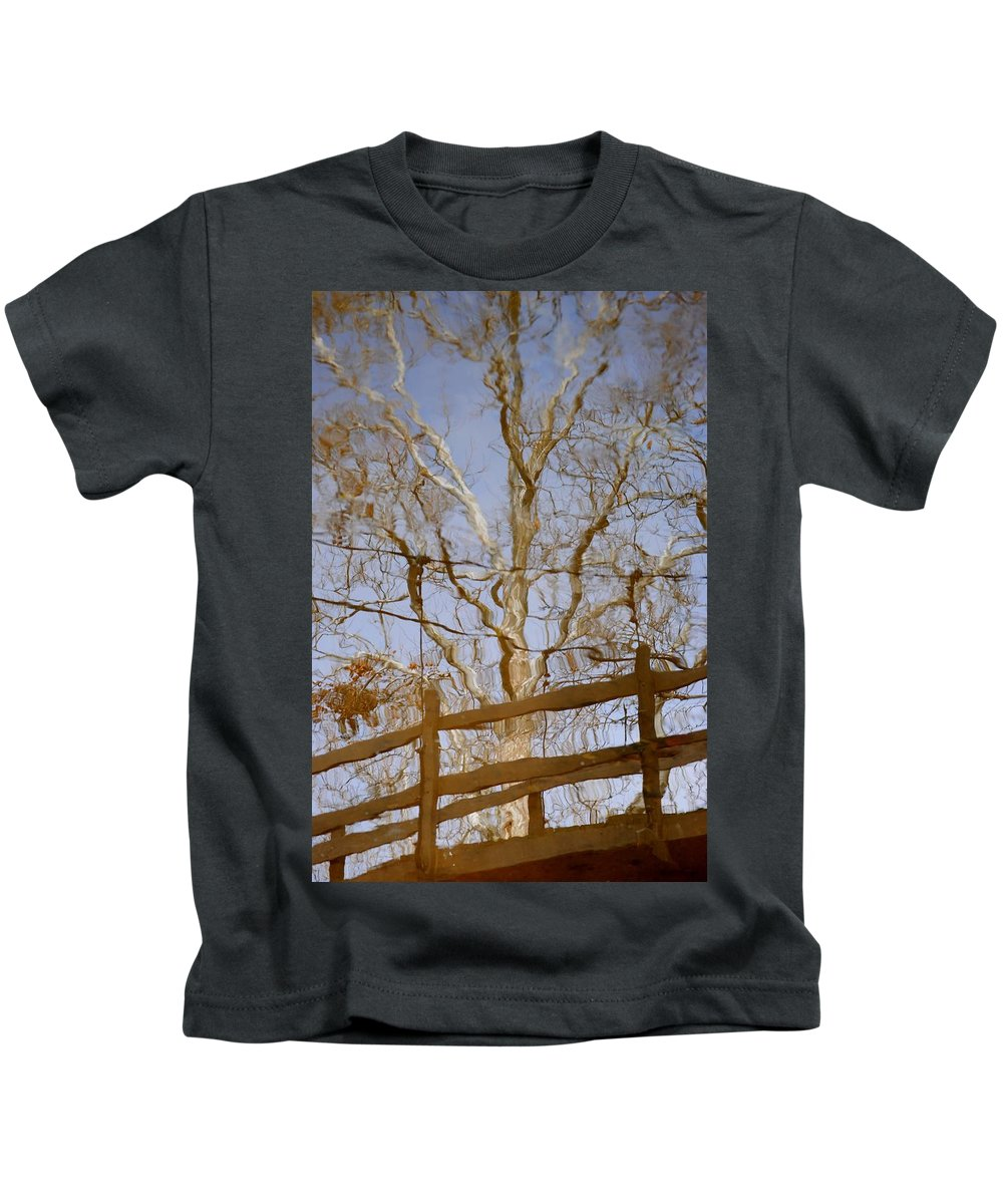 Reflection Kids T-Shirt featuring the photograph Reflection by Frozen in Time Fine Art Photography