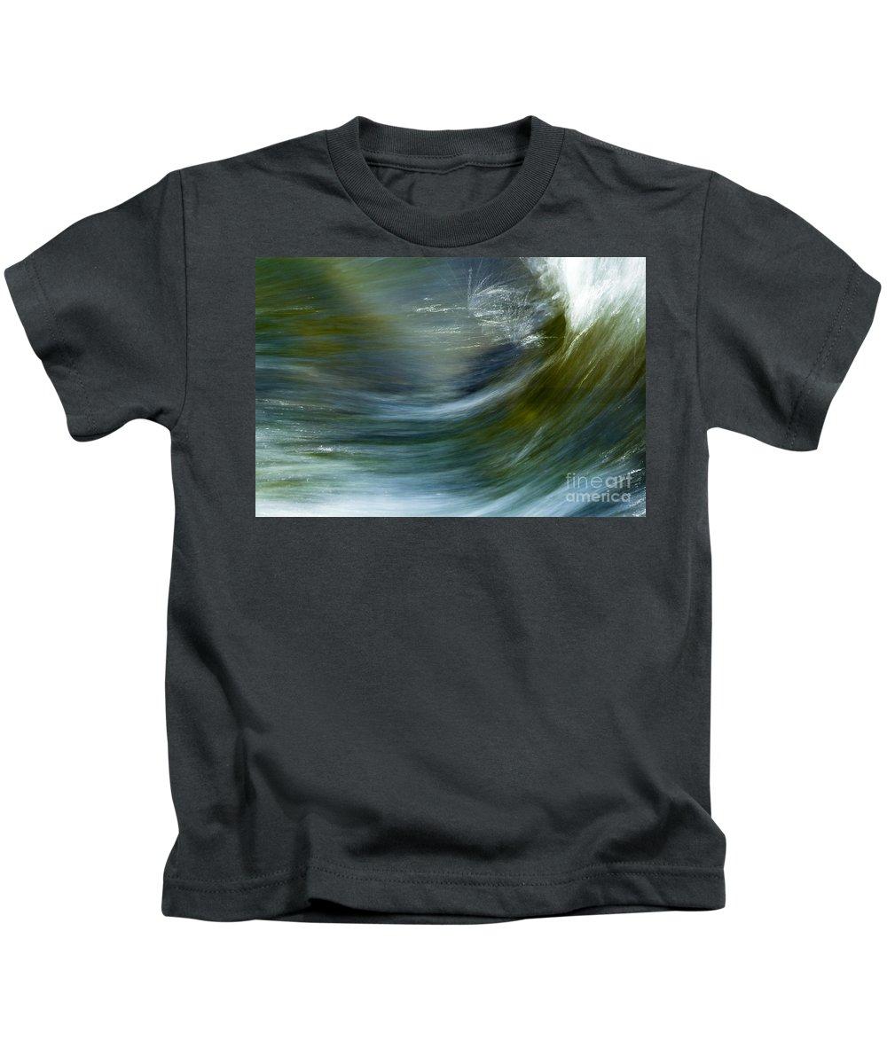 Heiko Kids T-Shirt featuring the photograph Rio Caldera Flow 2 by Heiko Koehrer-Wagner