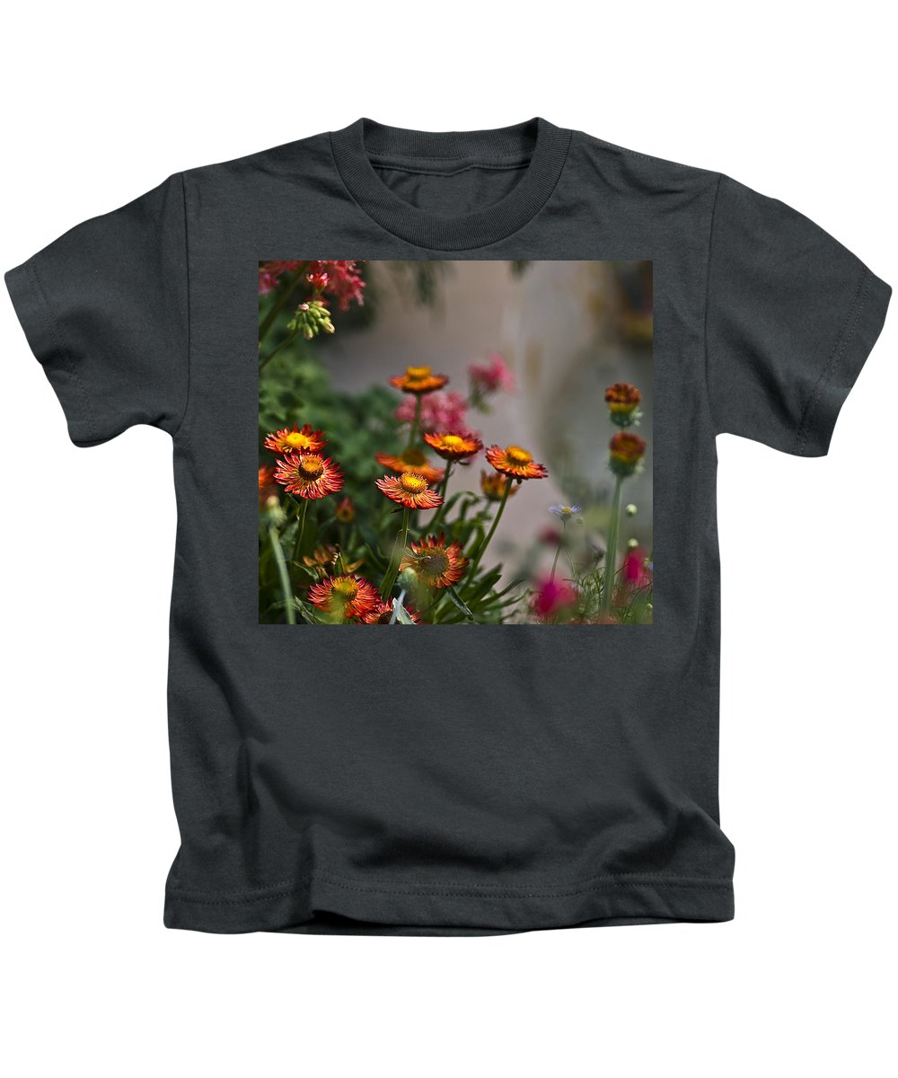 Longwood Gardens Kids T-Shirt featuring the photograph Rising Up by Samantha Eisenhauer