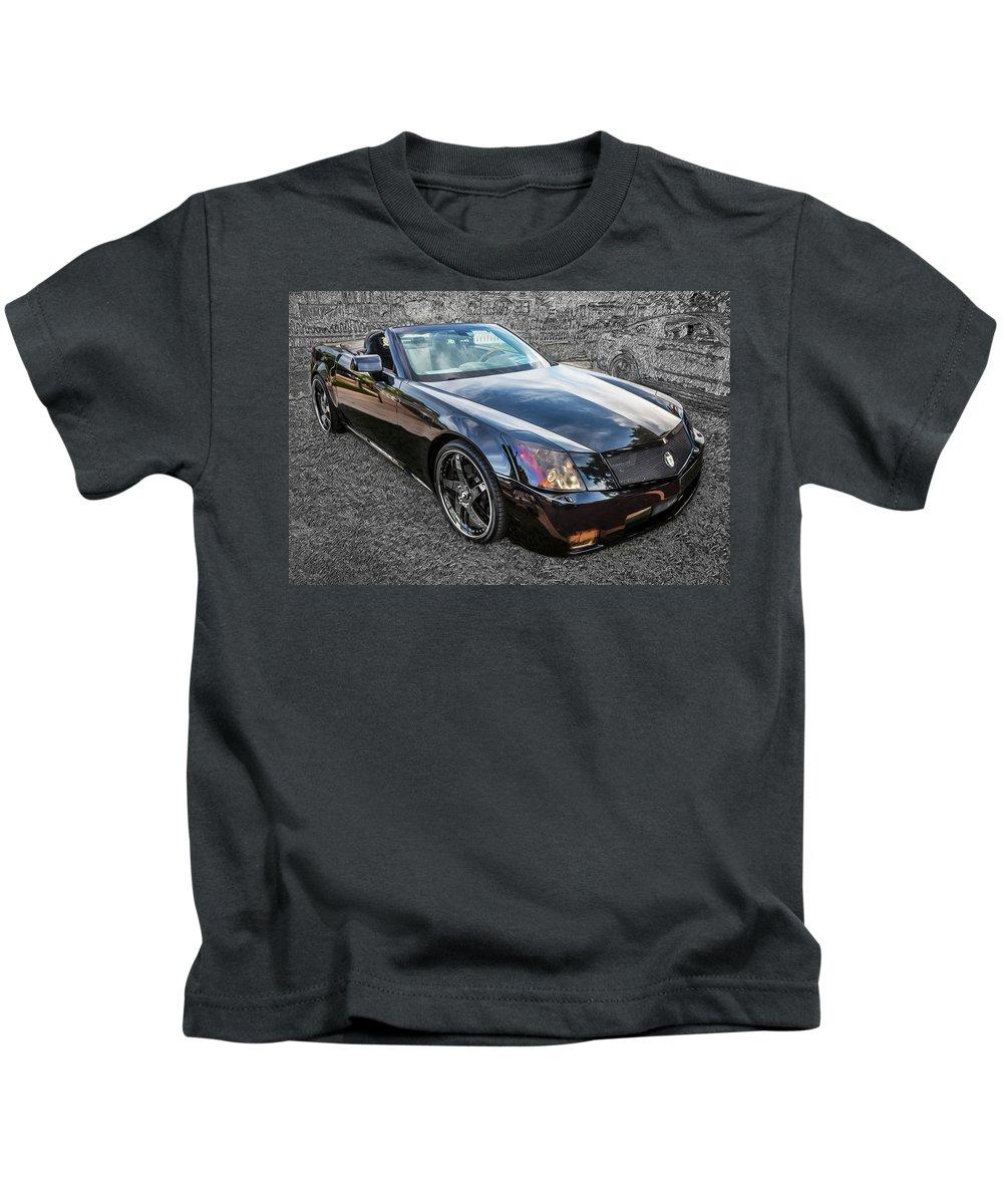 Cadillac Xlr Kids T-Shirts