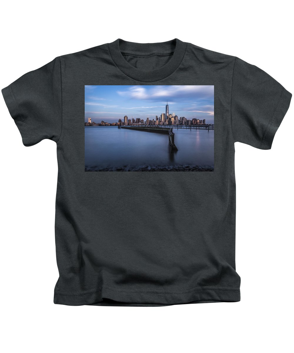 Nj Kids T-Shirt featuring the photograph Royal Blue by Johnny Lam
