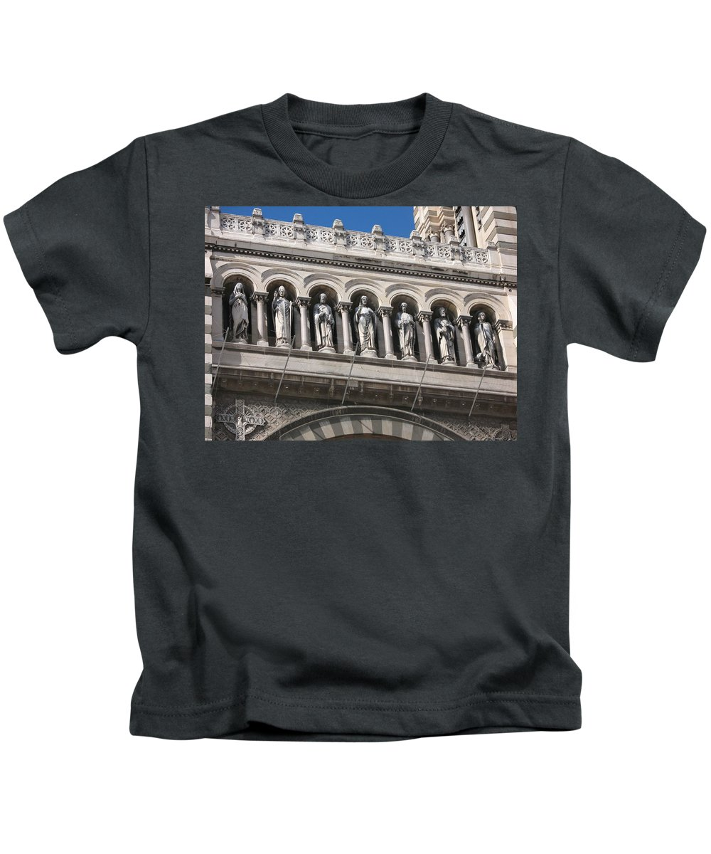 Saints Kids T-Shirt featuring the photograph Saints Cathedral De La Major by Christiane Schulze Art And Photography