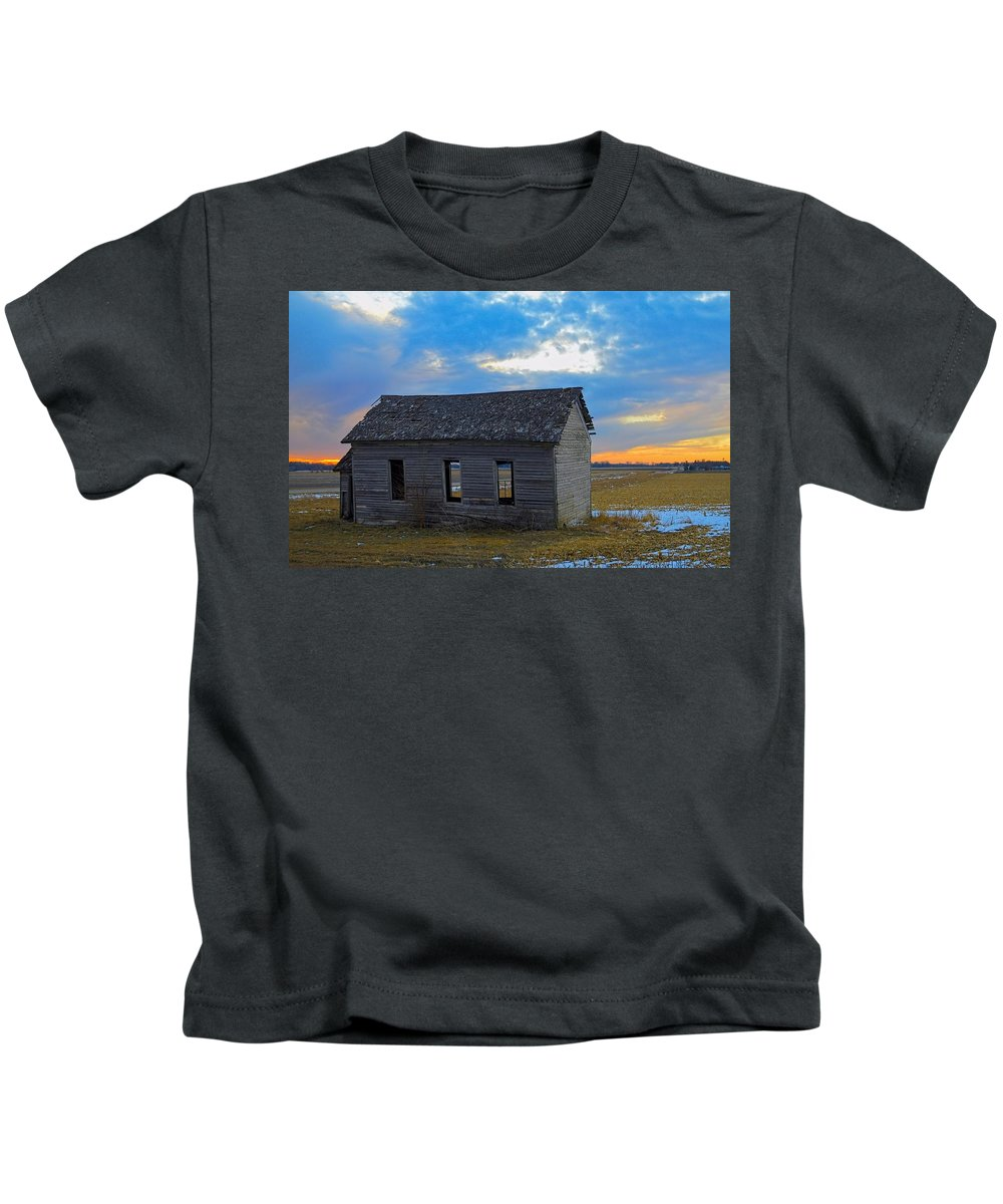 Abandoned Kids T-Shirt featuring the photograph Scene From The Past by Bonfire Photography