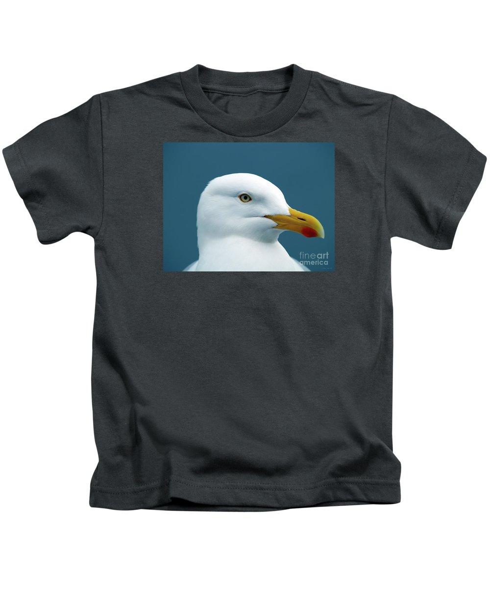 Fine Art Print Kids T-Shirt featuring the photograph Seagull I by Patricia Griffin Brett
