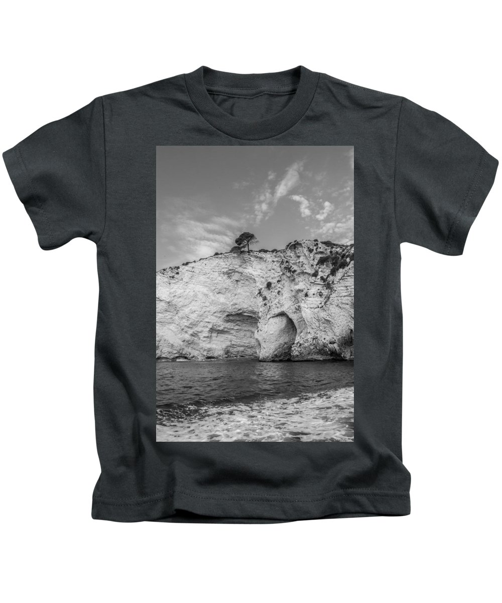 Sea Kids T-Shirt featuring the photograph Seascape 1 by Michele Mule