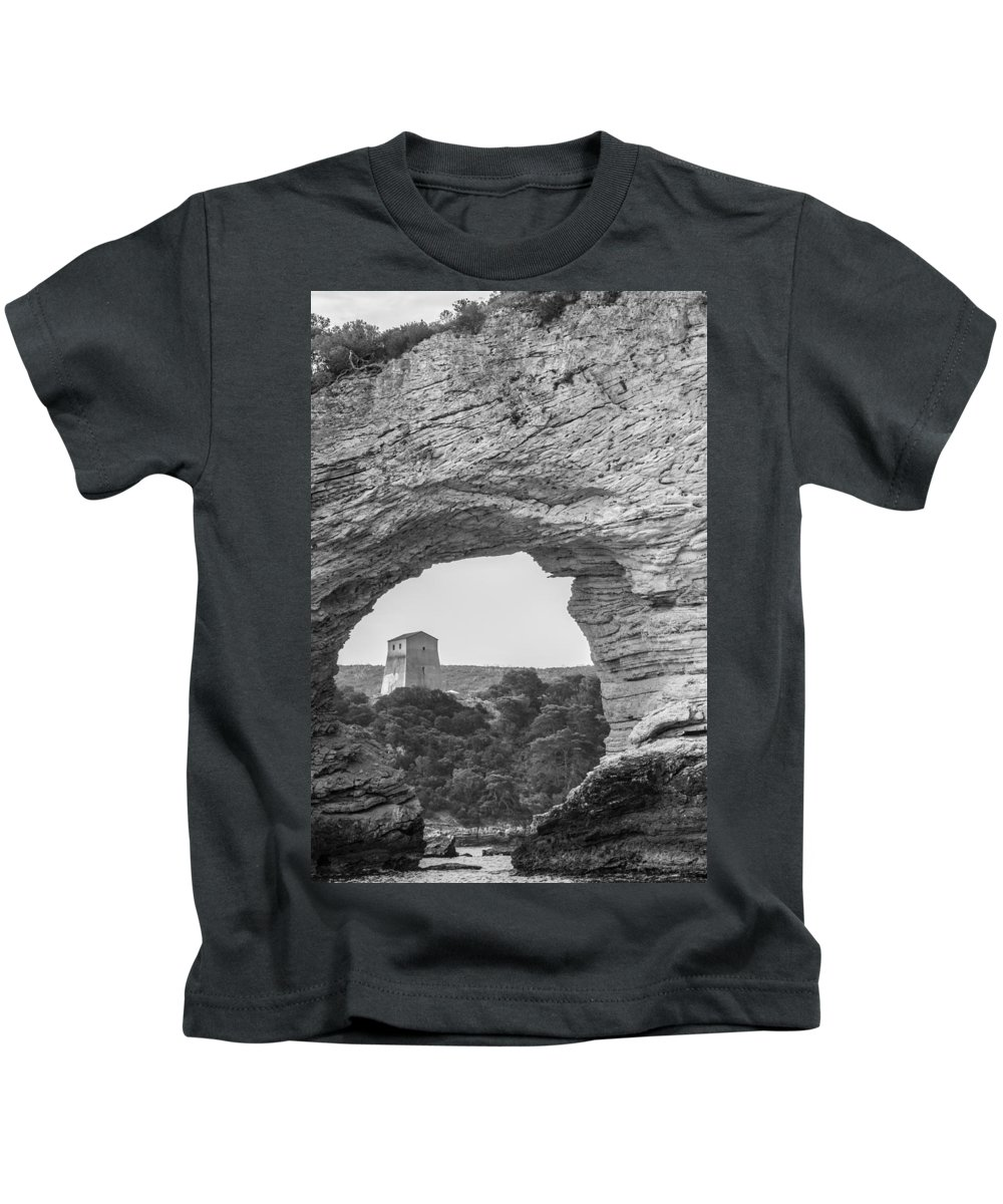 Sea Kids T-Shirt featuring the photograph Seascape-2 by Michele Mule
