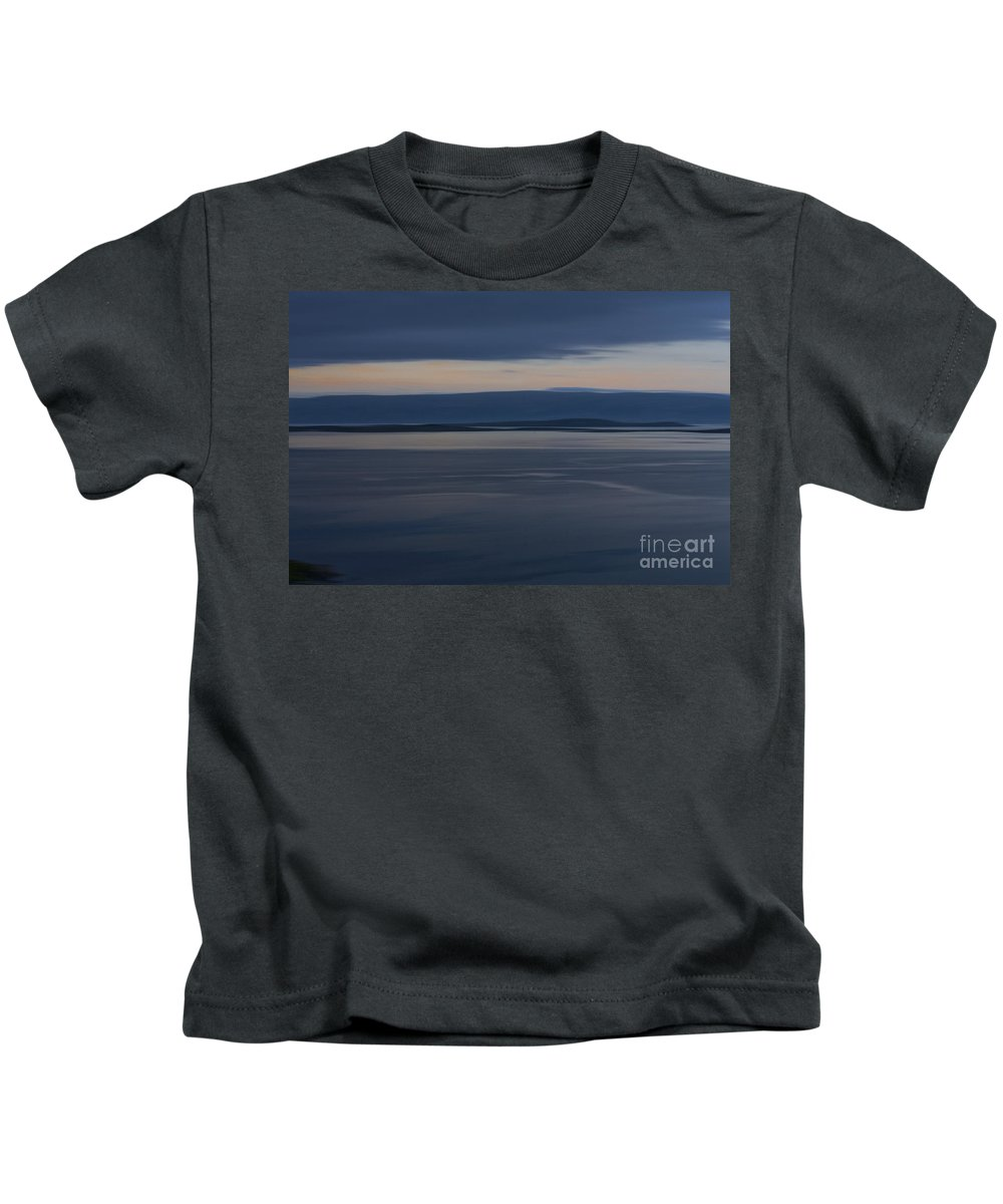 Europe Kids T-Shirt featuring the photograph Shades Of Blue 2 by Heiko Koehrer-Wagner
