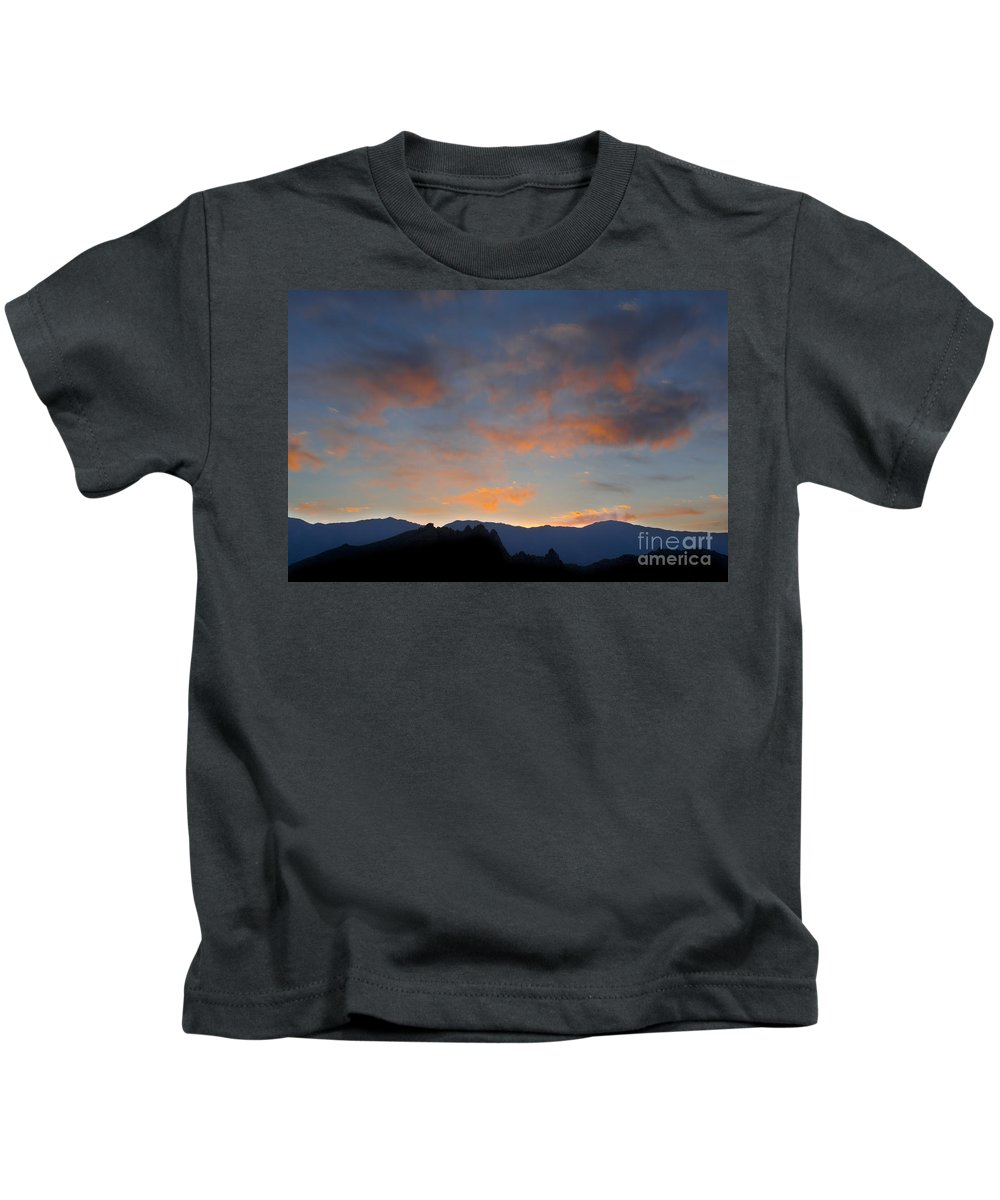 Landscape Kids T-Shirt featuring the photograph Sierra Nevada Sunrise by John Shaw