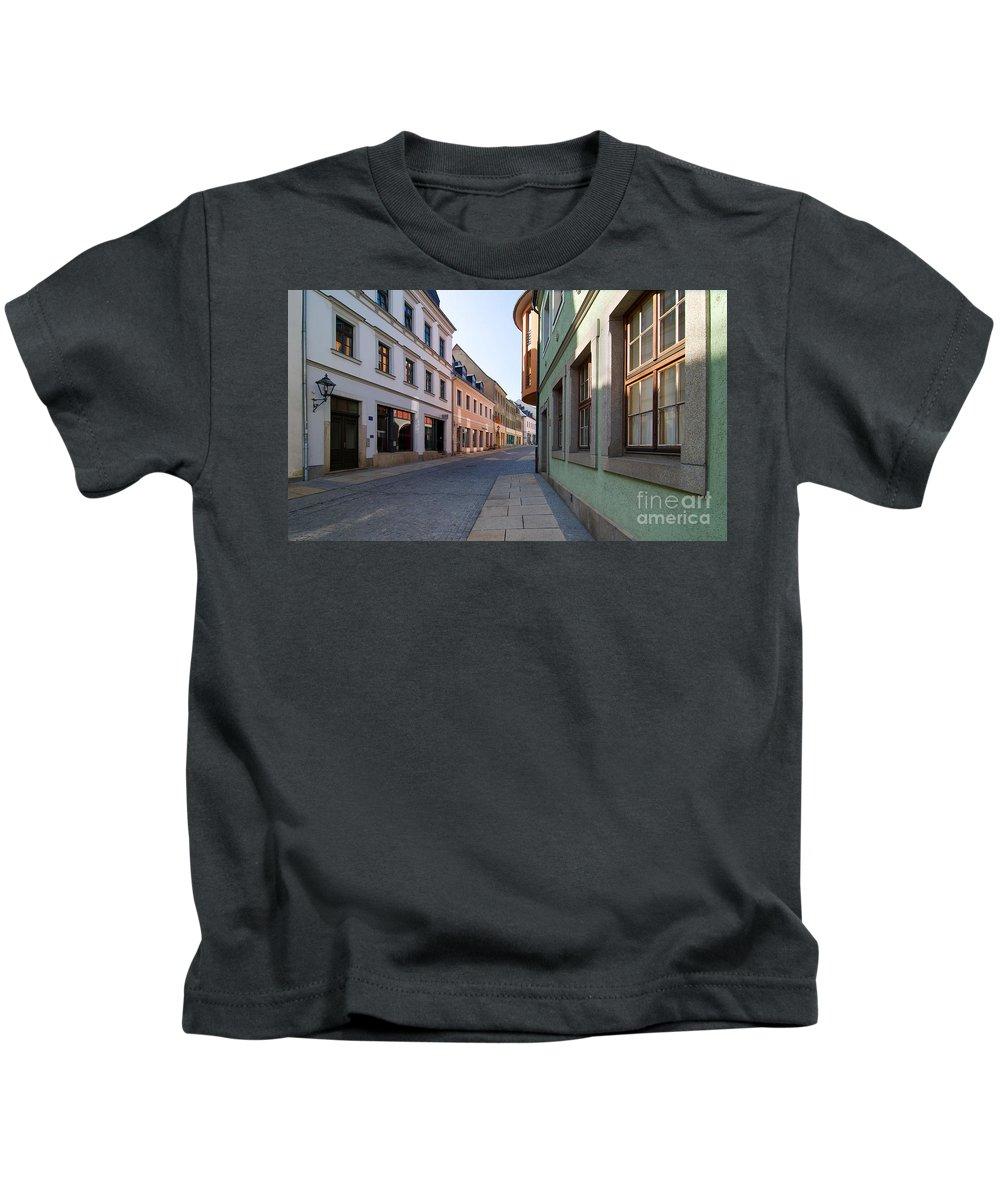 Street Kids T-Shirt featuring the photograph Silent Street by Ari Salmela