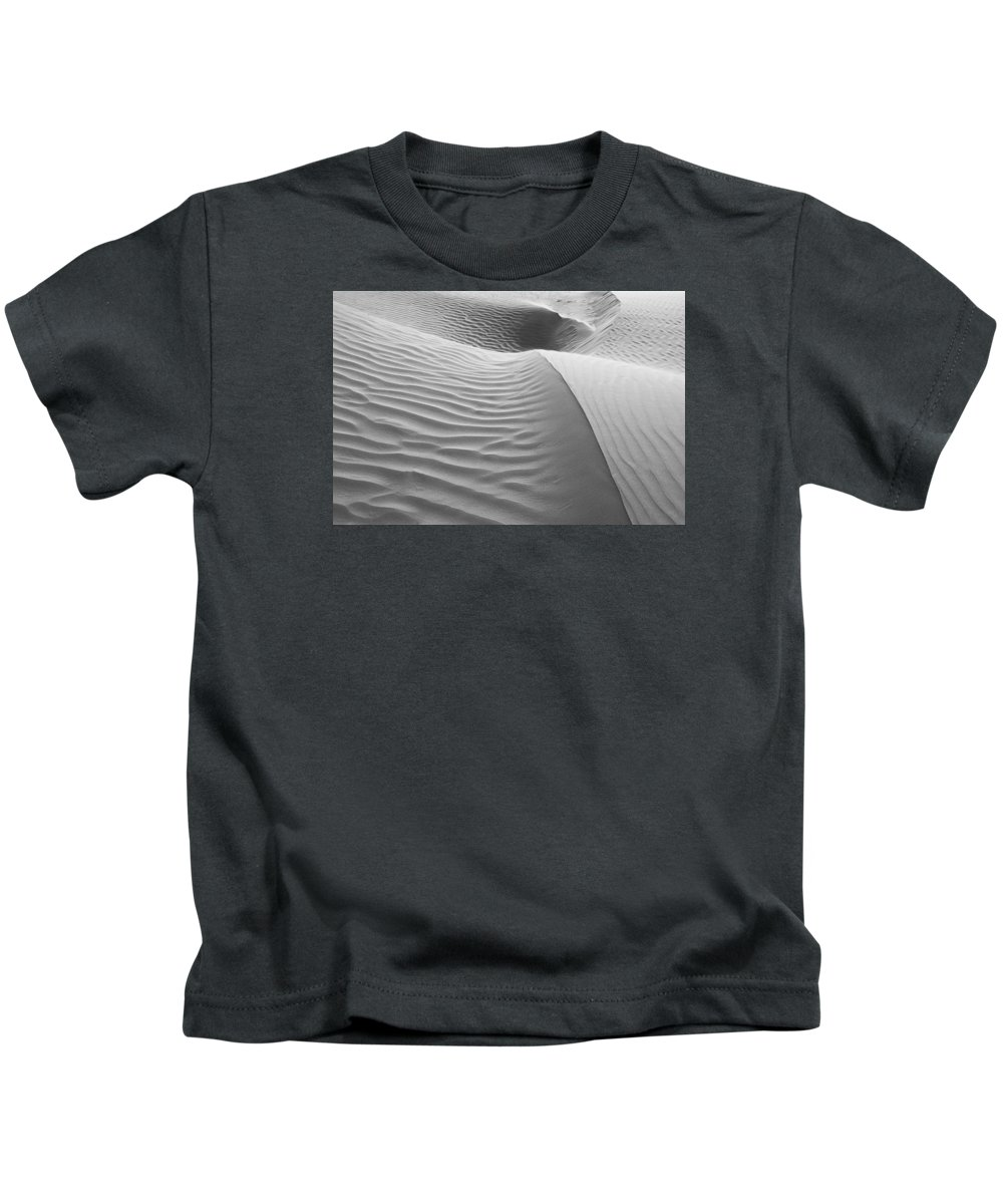 Flow Kids T-Shirt featuring the photograph Skn 1415 The Flow Of Ripples by Sunil Kapadia