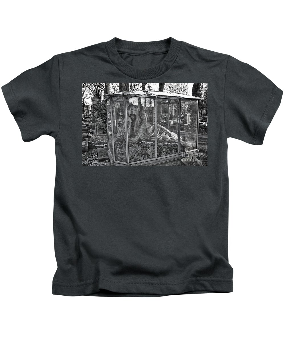 Sleeping Beauty Kids T-Shirt featuring the photograph Sleeping Beauty's Night Mare by Brothers Beerens