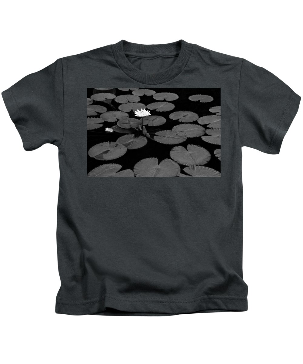 Water Kids T-Shirt featuring the photograph Space Lily by Scott Rackers