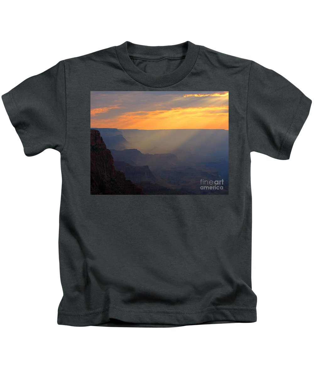 Spirit Of Our Lord Kids T-Shirt featuring the photograph Spirit Of Our Lord by John Malone