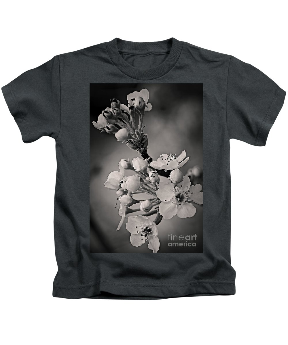 Spring Kids T-Shirt featuring the photograph Spring Blossoms by Charles Muhle