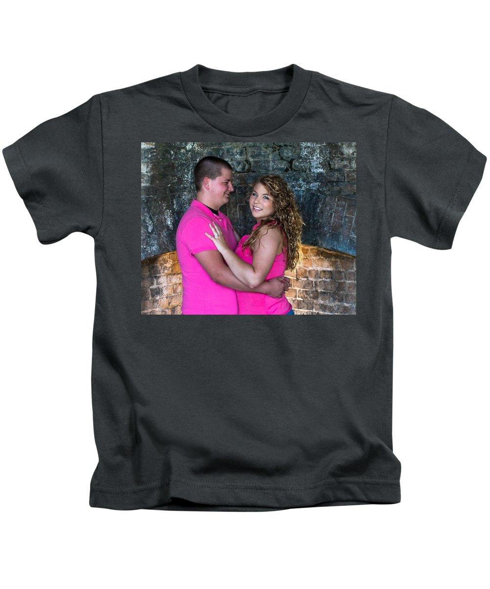 Portraits Kids T-Shirt featuring the photograph Stearns 6 by Mechala Matthews