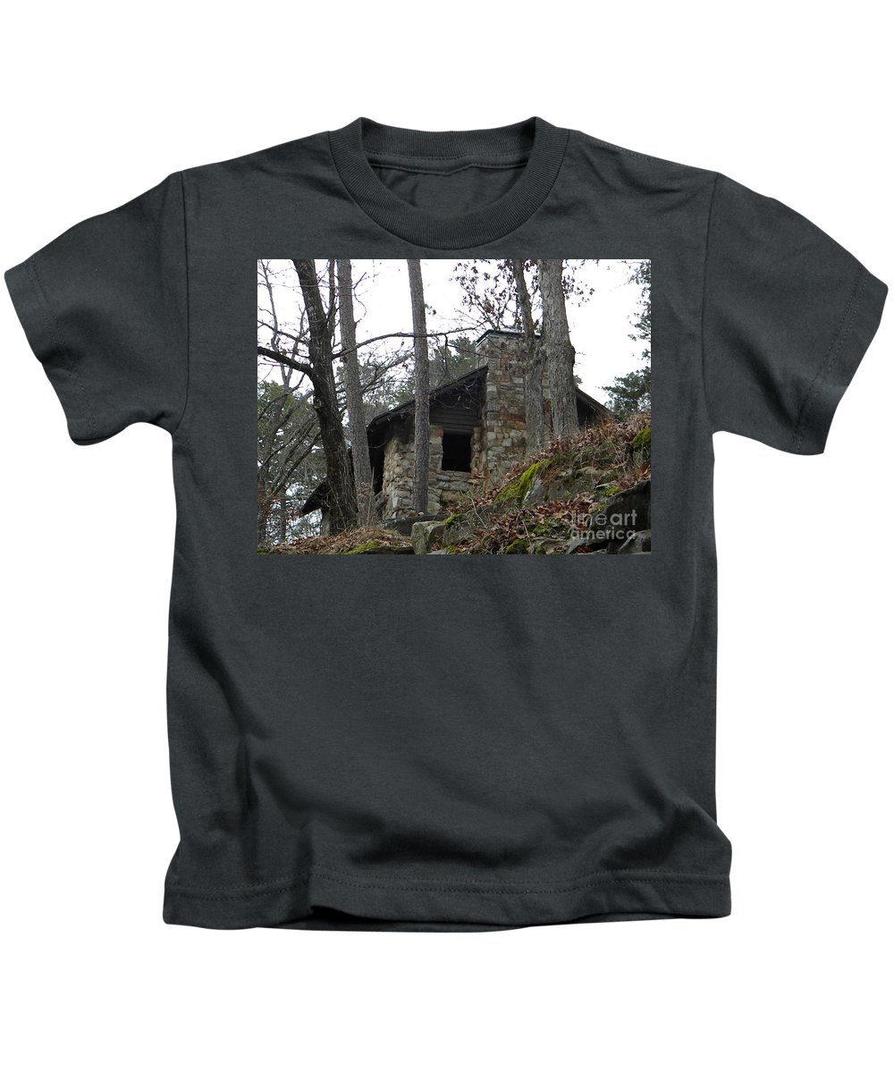Stone Kids T-Shirt featuring the photograph Stonewall by Nathanael Smith
