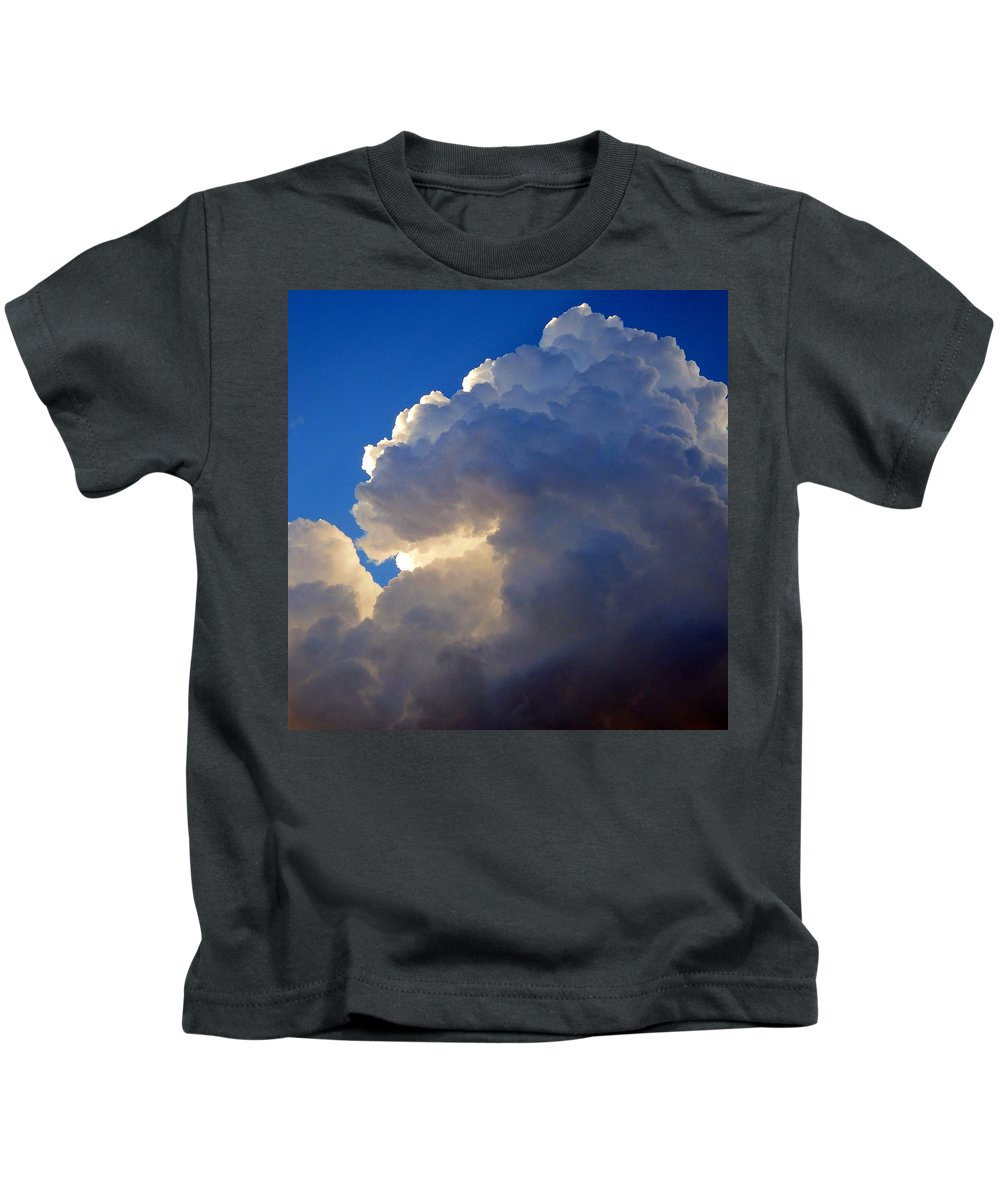 Storm Kids T-Shirt featuring the photograph Storm Clouds 3 by David G Paul