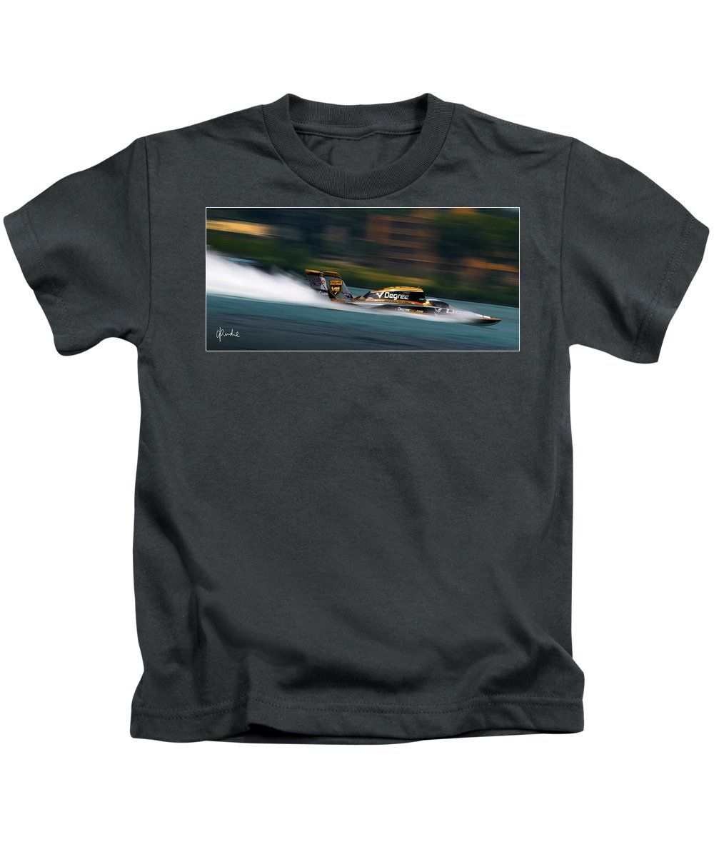 Unlimited Kids T-Shirt featuring the photograph Temperature's Risin' by Craig Purdie