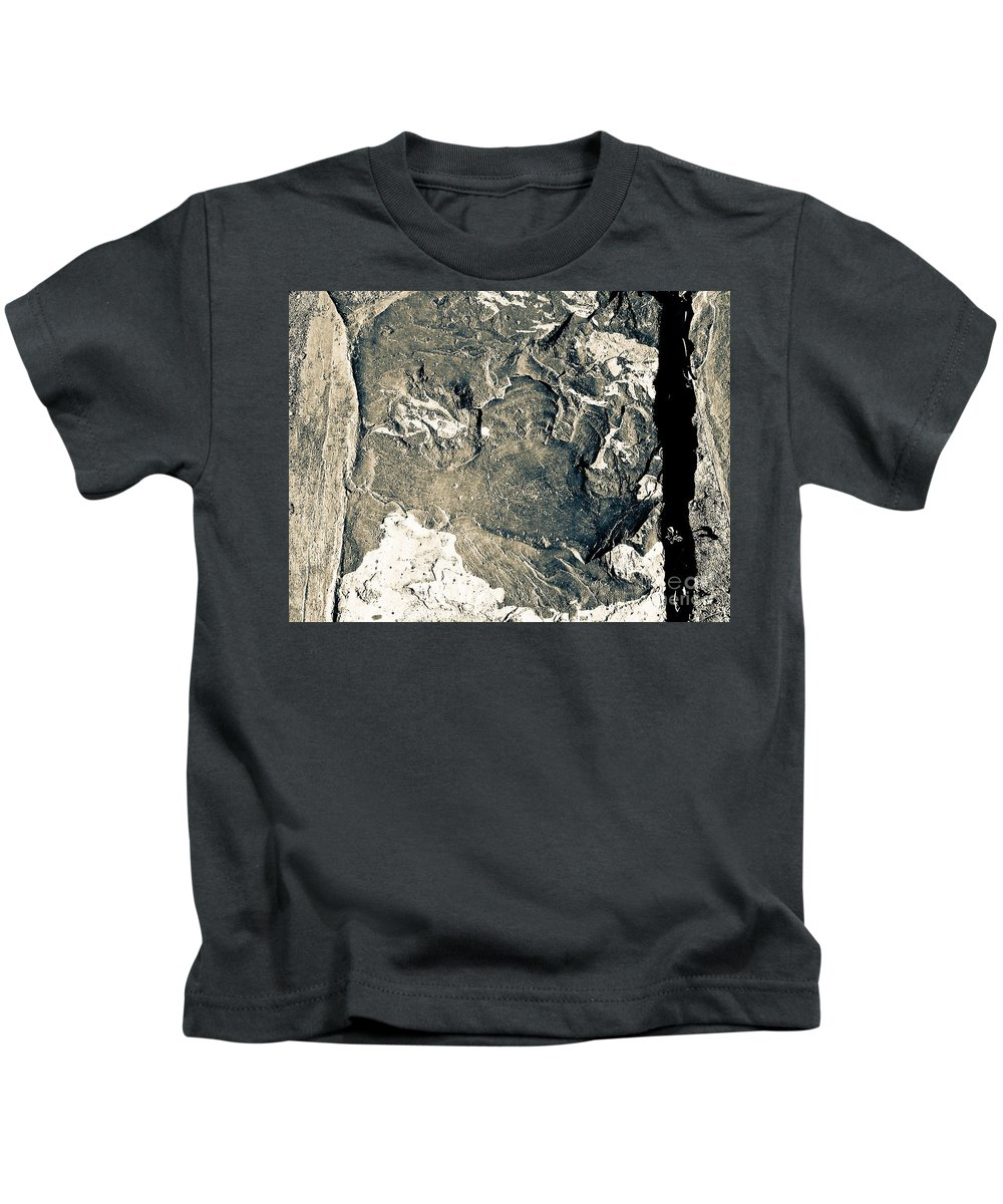 Abstract Kids T-Shirt featuring the photograph Texture No. 2 Effect 1 by Fei A