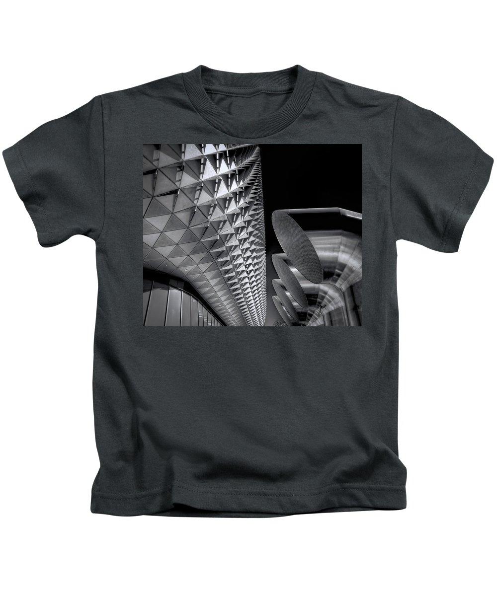 Armadillo Kids T-Shirt featuring the photograph The Armadillo Awakes by Wayne Sherriff