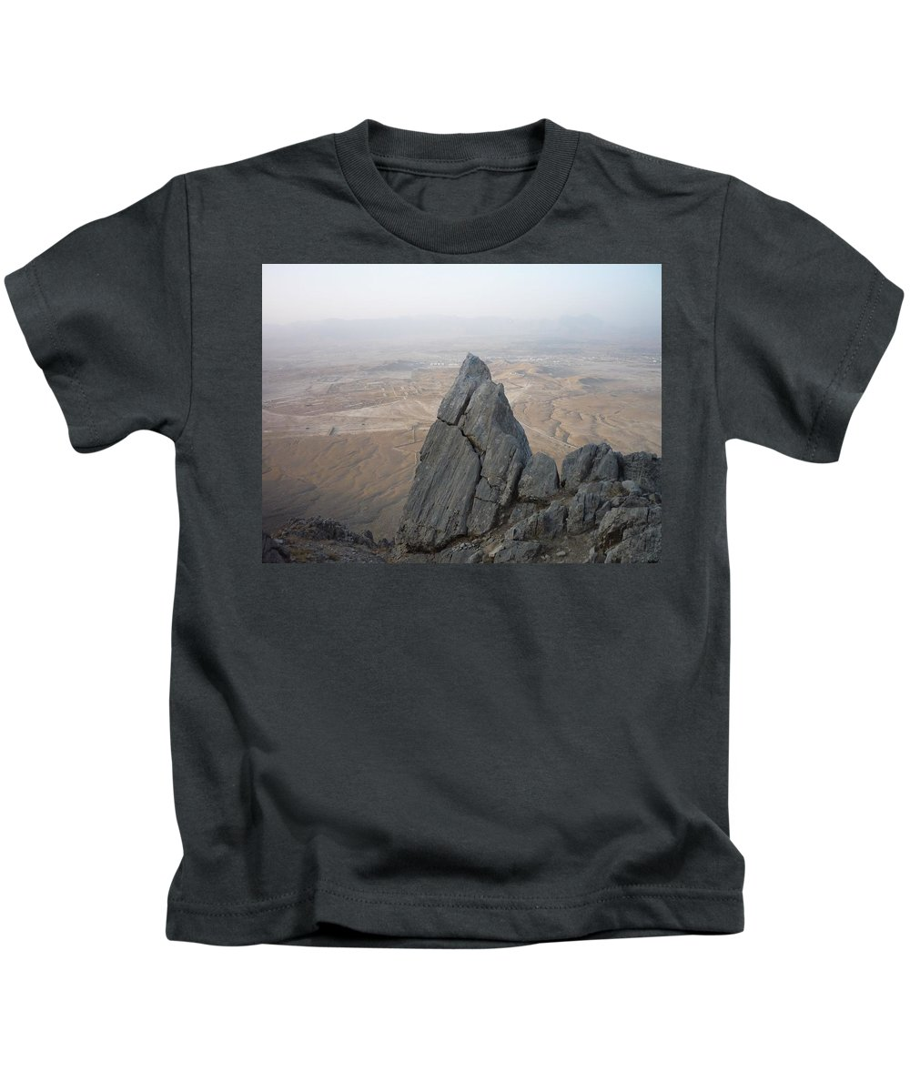 Mountain Kids T-Shirt featuring the photograph The Ghar by Shea Holliman