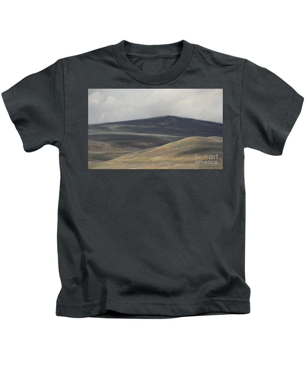 Colorado Kids T-Shirt featuring the photograph The Land Scape by Dana DiPasquale