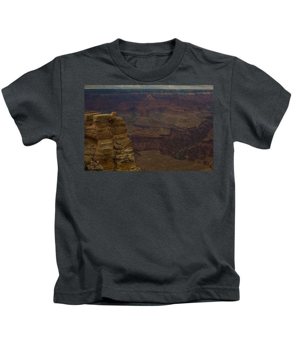 Grand Canyon Kids T-Shirt featuring the photograph The Many Colors Of The Grand Canyon by Kathleen Odenthal