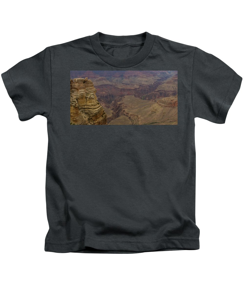 Sunrise Kids T-Shirt featuring the photograph The Many Shapes Of Nature by Kathleen Odenthal